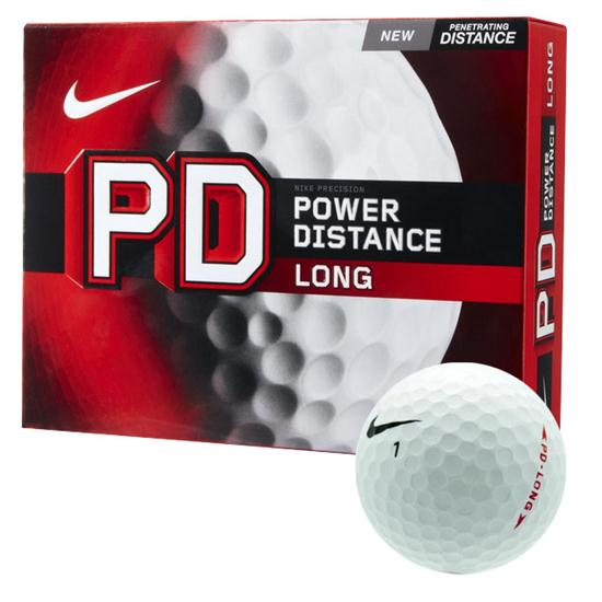Nike Golf PD Long Golf Balls (Dozen)